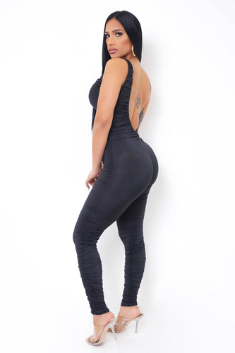 Nathalia Jumpsuit - Black