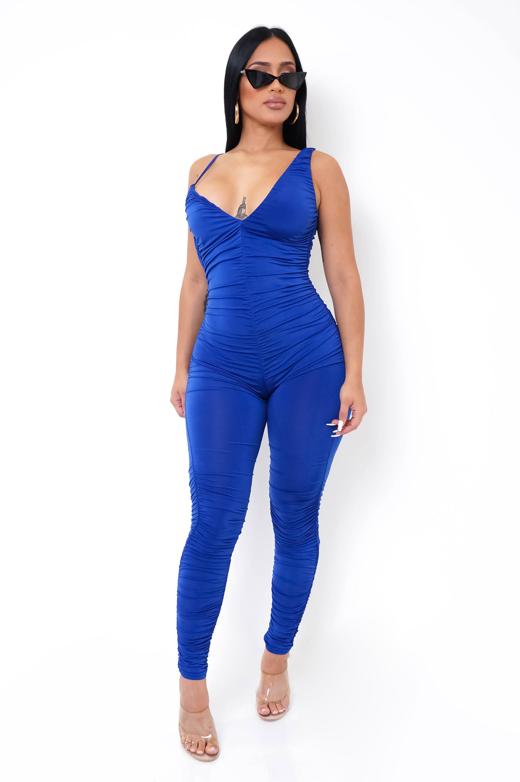 Nathalia Jumpsuit - Blue
