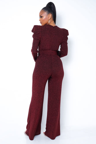 Cynthia Jumpsuit - Red
