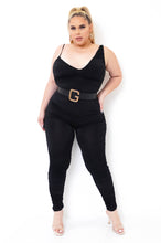 Plus Size Nathalia Jumpsuit - Black