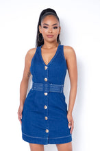 Kasey Mini Dress - Blue
