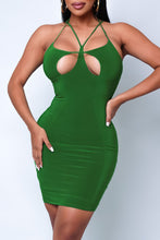 Plus Size Ally Mini Dress - Rose Gold