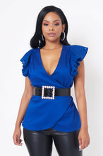 Xiomara Top - Blue