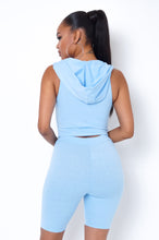Got The Power Two Piece Short Set - Baby Blue