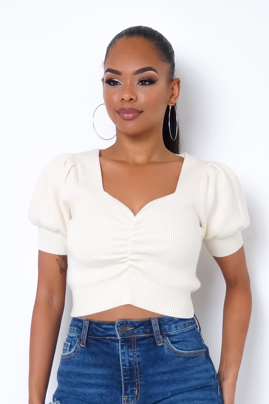 Yeisy Top - Ivory