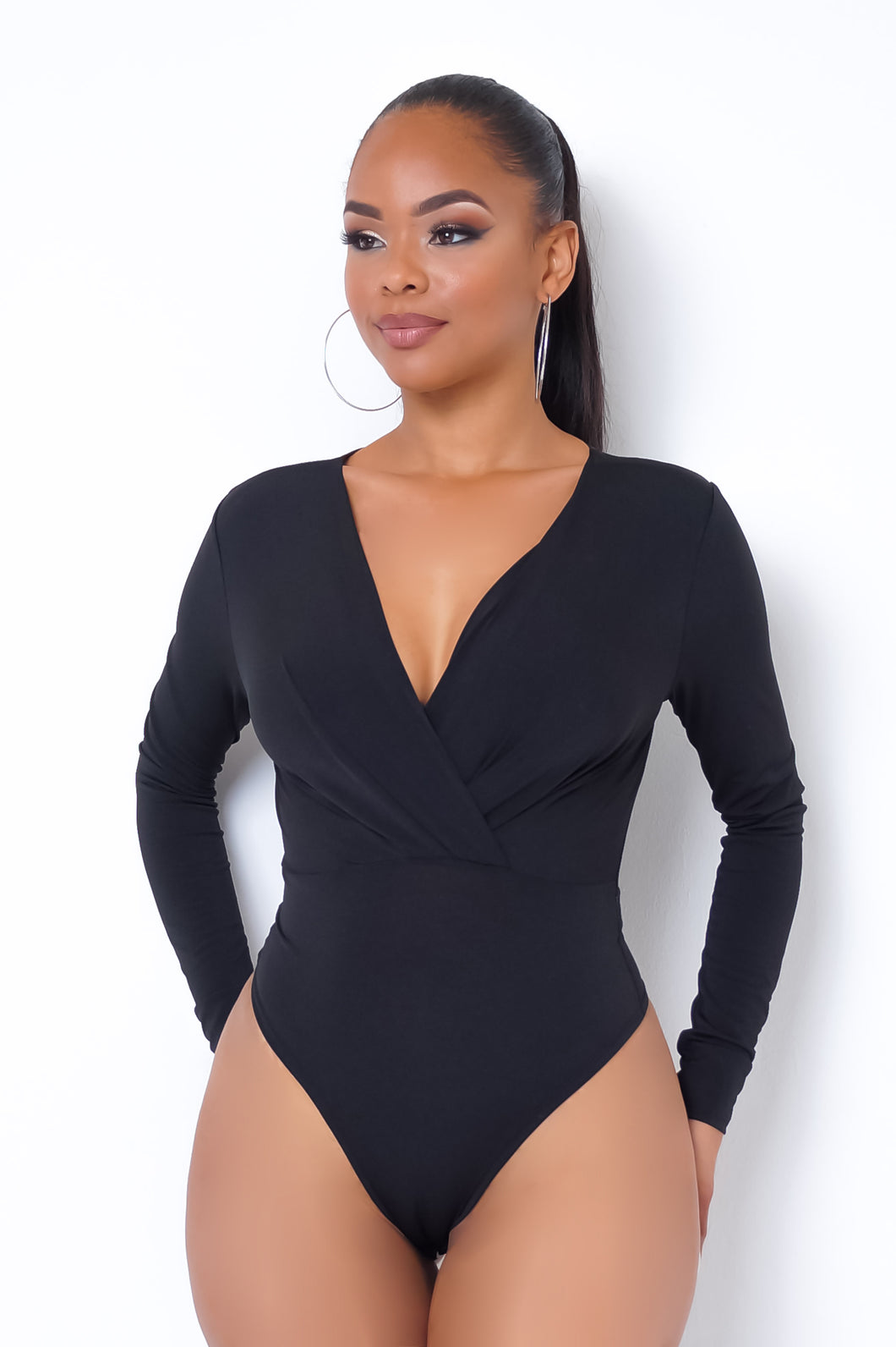 Xiomara Bodysuit - Black