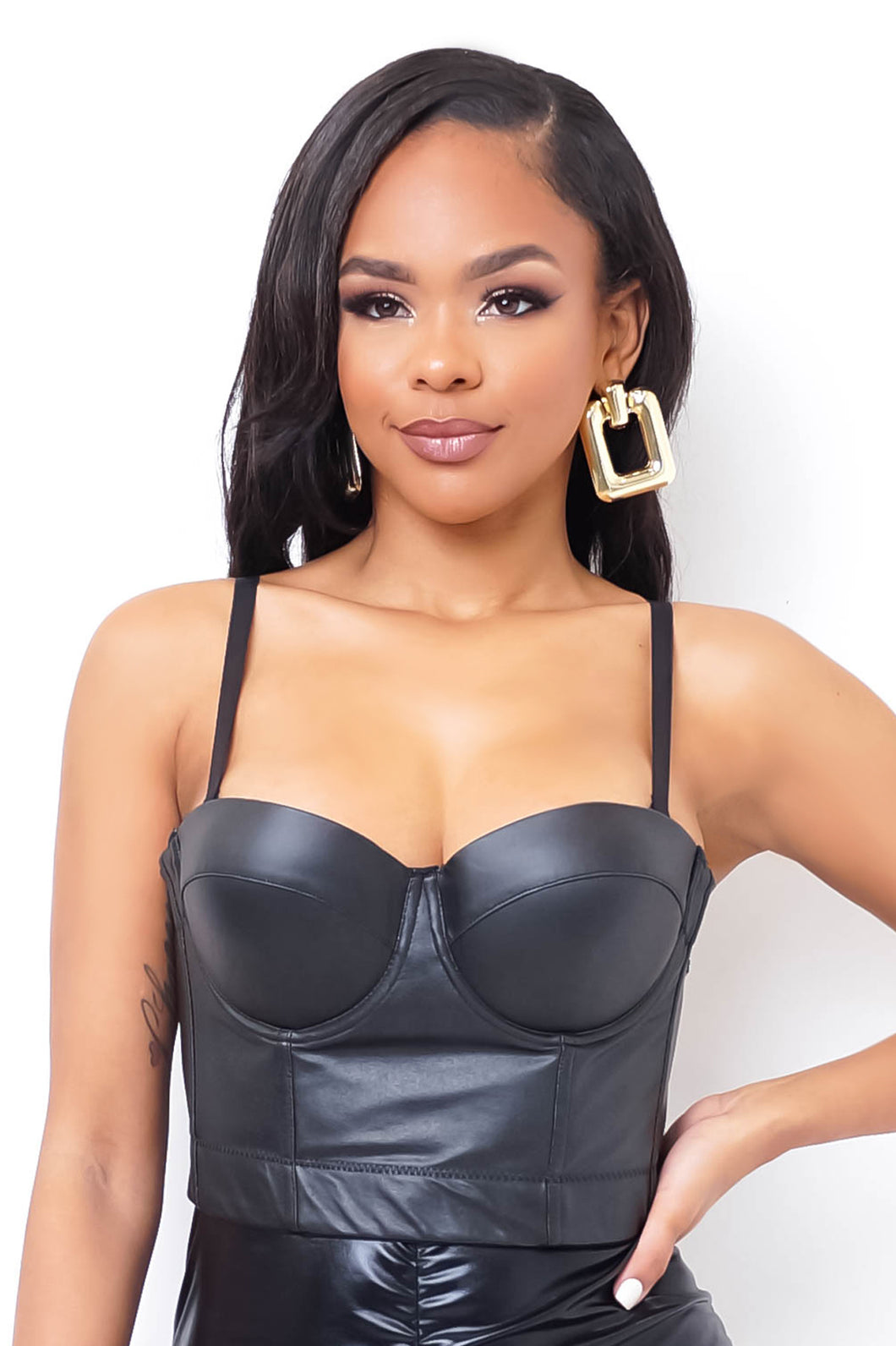 Velma Crop Top - Black