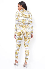Fine Fashion Jumpsuit Set - White