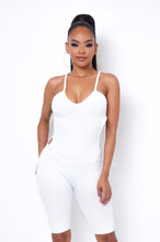 Cool Fit Romper - White