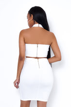 Back For More Two Piece Skirt Set - White