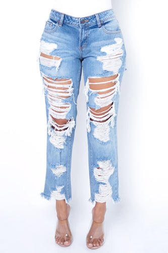 Runaway Jeans - Light Blue