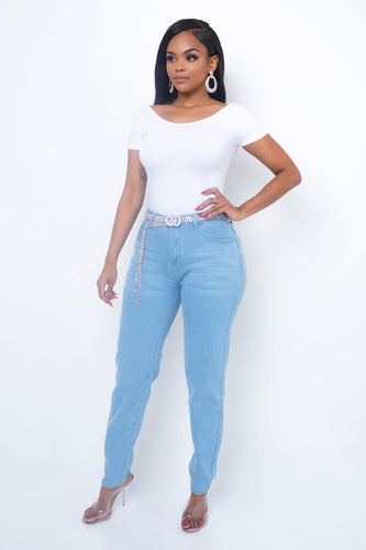 Sweet Love Jeans - Light Blue
