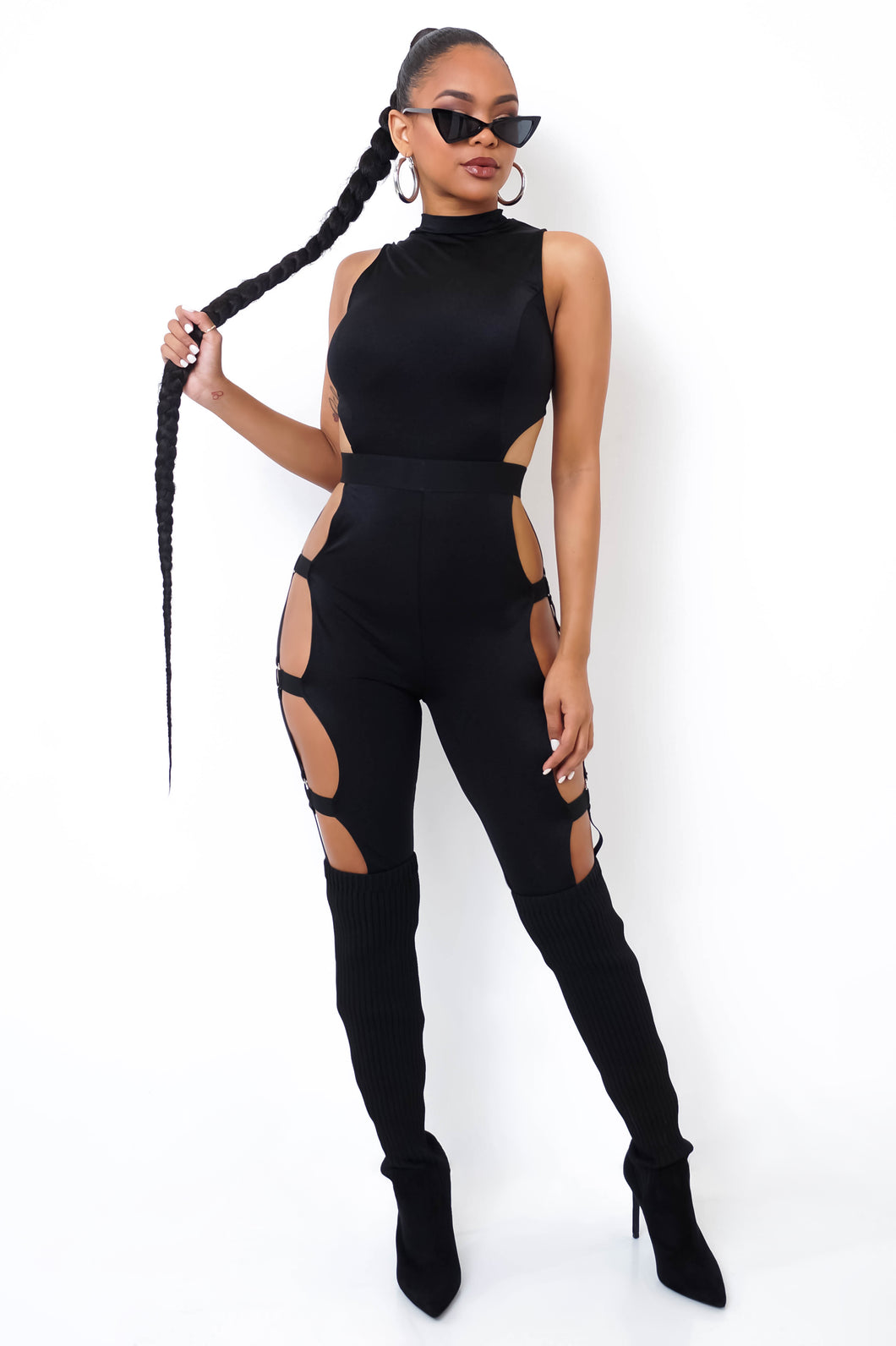 My Way Jumpsuit - Black