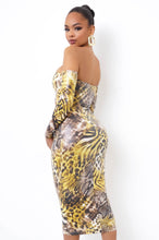 Jungle Babe Two Piece Skirt Set - Yellow