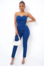 Nikki Jumpsuit - Dark Wash