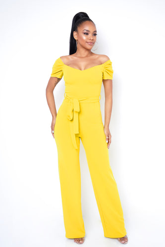 Mary Jumpsuit - Yellow