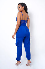 Natasha Jumpsuit - Blue
