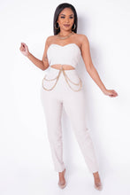 Right And Precise Jumpsuit - Nude