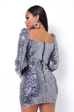 Giovana Two Piece Skirt Set - Silver