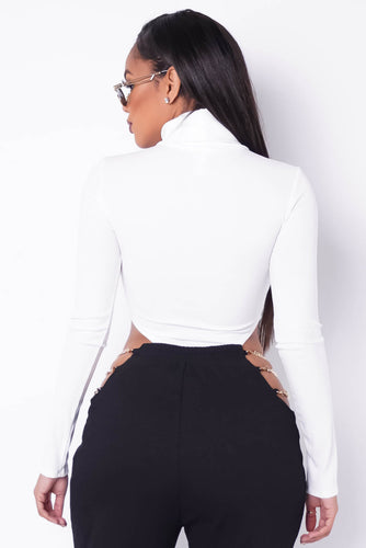 Kamila Bodysuit - White (PRE-ORDER Will Ship Jan 19th)