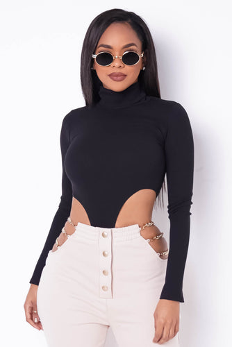 Kamila Bodysuit - Black (PRE-ORDER Will Ship Jan 19th)