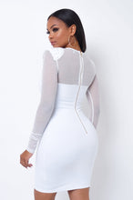 Gloria Mini Dress - White