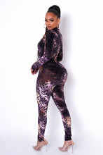 Addison Jumpsuit  - Purple