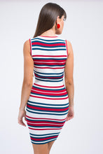 Nautical Stripes Knit Dress