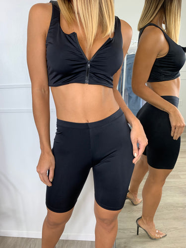 Spin, Cycle, Spin Two Piece Short Set