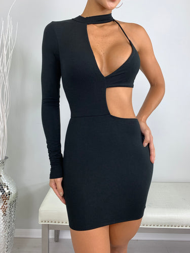 Karma Mini Dress - Black