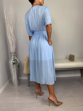 The Flow Midi Dress - Light Blue