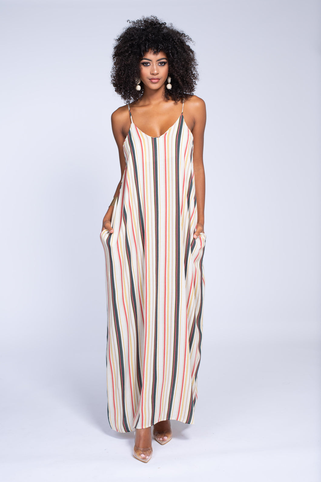 From All Angles Maxi Dress