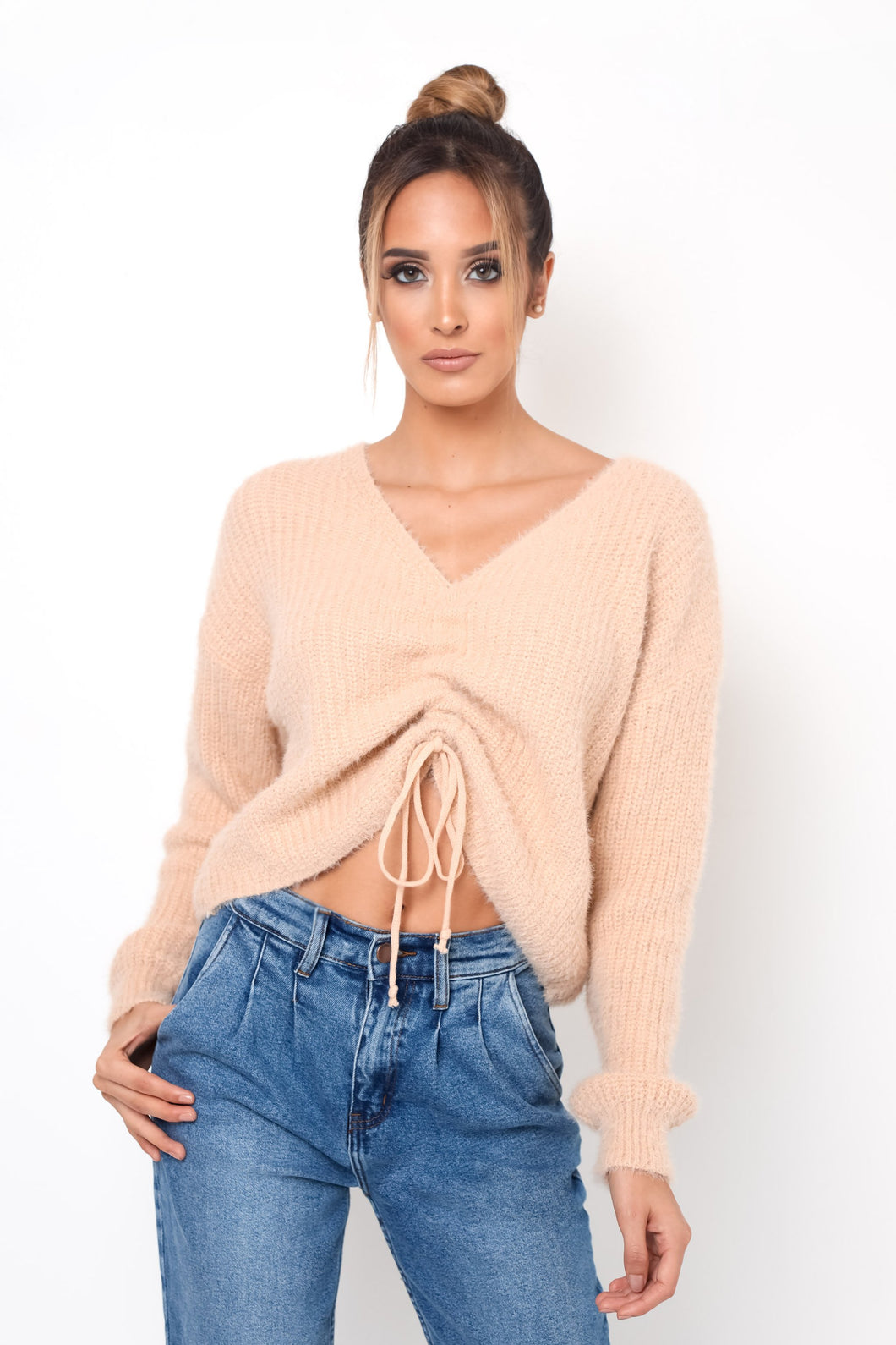 Neutral Top - Nude