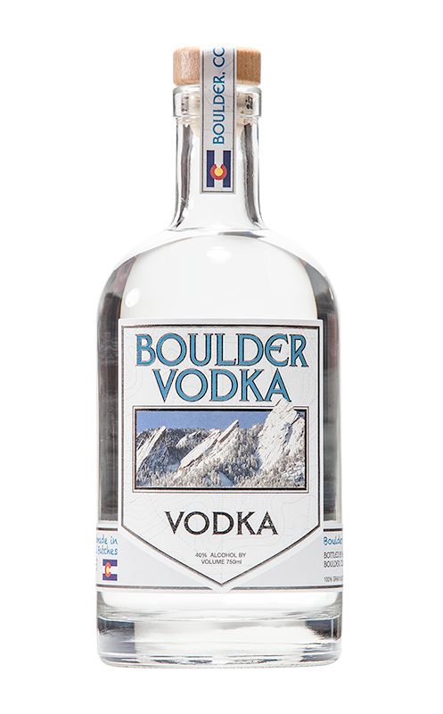 Boulder Vodka - COMING IN 2018