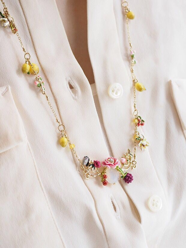 Inspired by Provence necklace