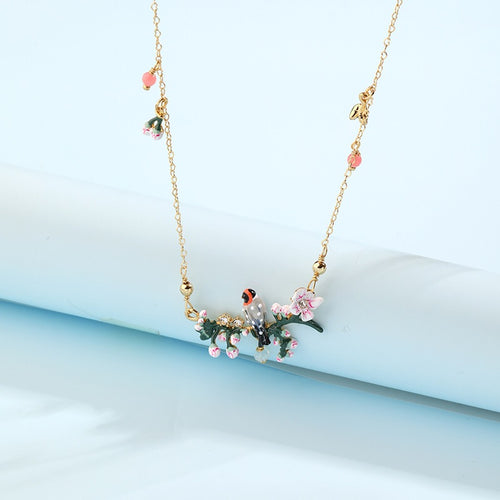 Little bird sitting pretty necklace