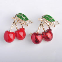 Sweet Cherry Brooch