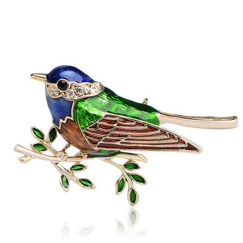 Songbird Brooch