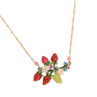 Winter Monet Garden necklace