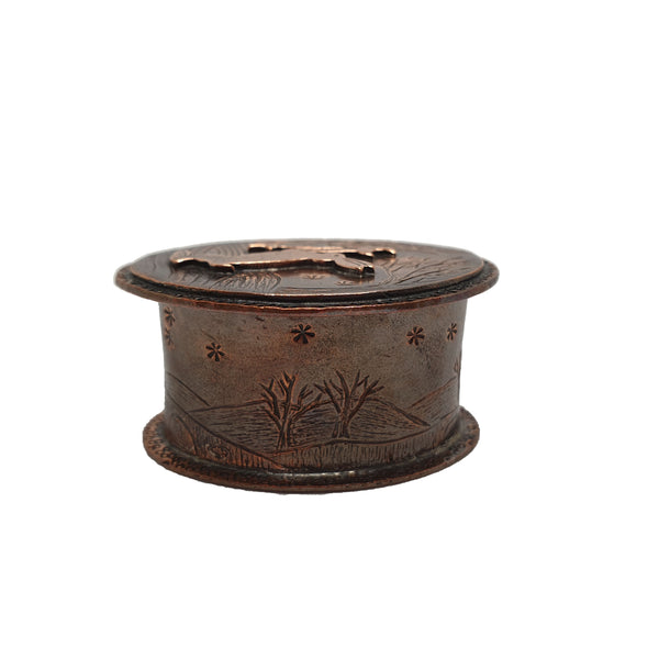 Star Maker Miniature Copper Box