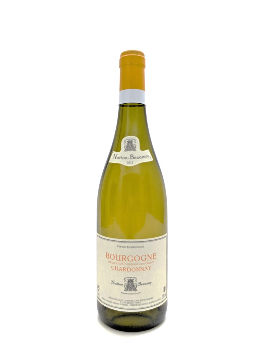 2018 Nuiton Beaunoy Bourgogne Chardonnay 6 pack Special Offer