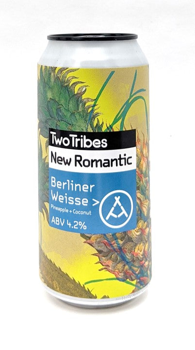 Two Tribes New Romantic Pineapple & Coconut Berliner Wiesse 440ml