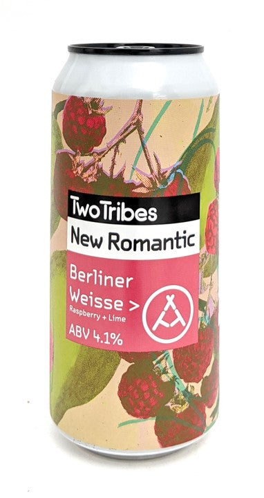 Two Tribes New Romantic Raspberry & Lime Berliner Weisse 440ml