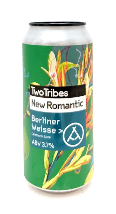 Two Tribes New Romantic Calamansi Lime Berliner Weisse 440ml