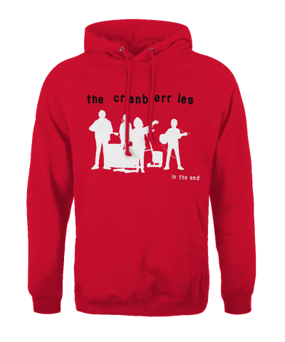 'Album Silhouette' Red Hoodie