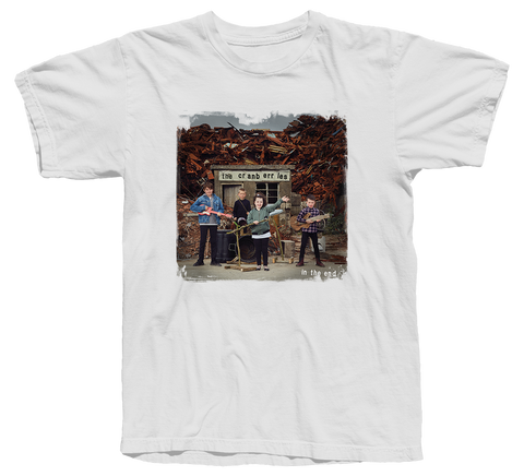 'In The End Album' White T-shirt