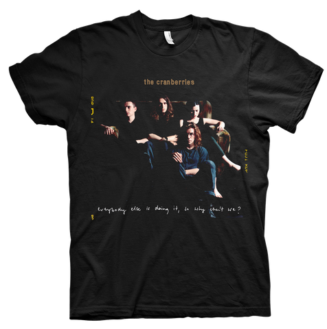 'Everybody Else is Doing It Album' Black T-shirt