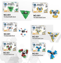 Lego build your own fidget spinners box brick set of 6 for kids