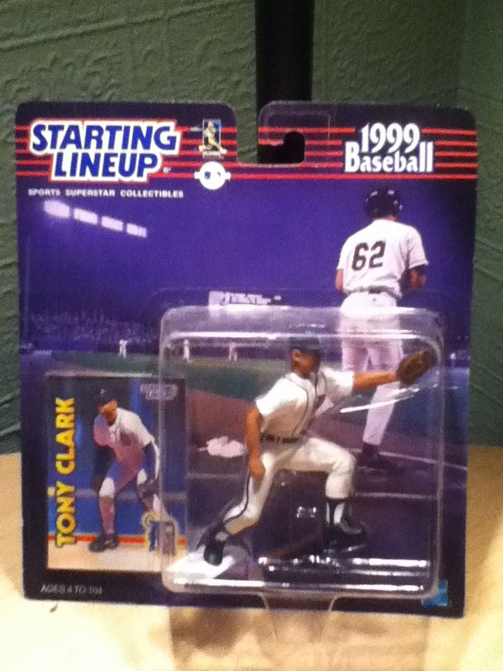 1999 Tony Clark  Starting Lineup  figure Detroit Tigers