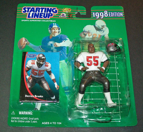 1998 Derrick Brooks Starting lineup  figure